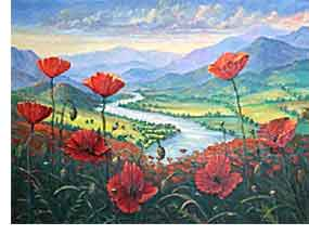 Poppies River